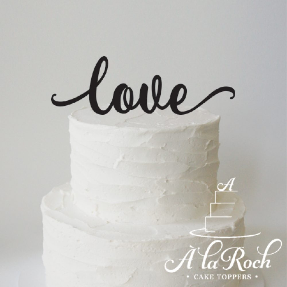 love valentines day cake topper