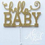 Hello Baby Cake Topper