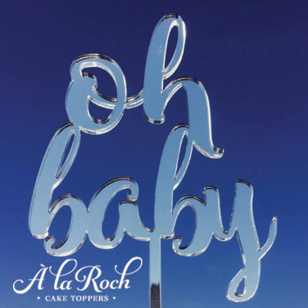 Oh Baby Cake Topper 1