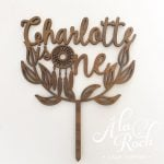 Custom is one Dreamcatcher Cake Topper