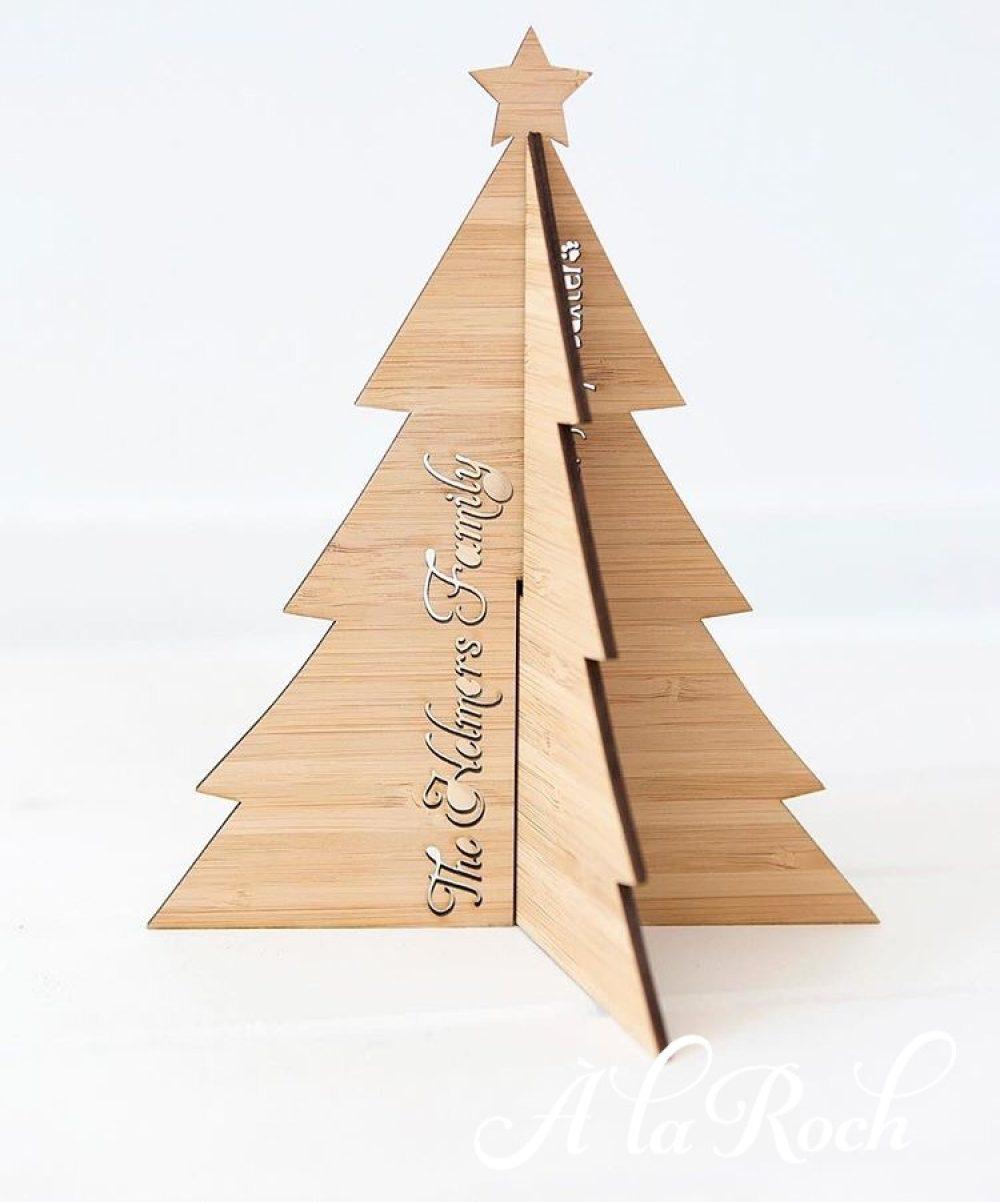 Bamboo Christmas Tree -