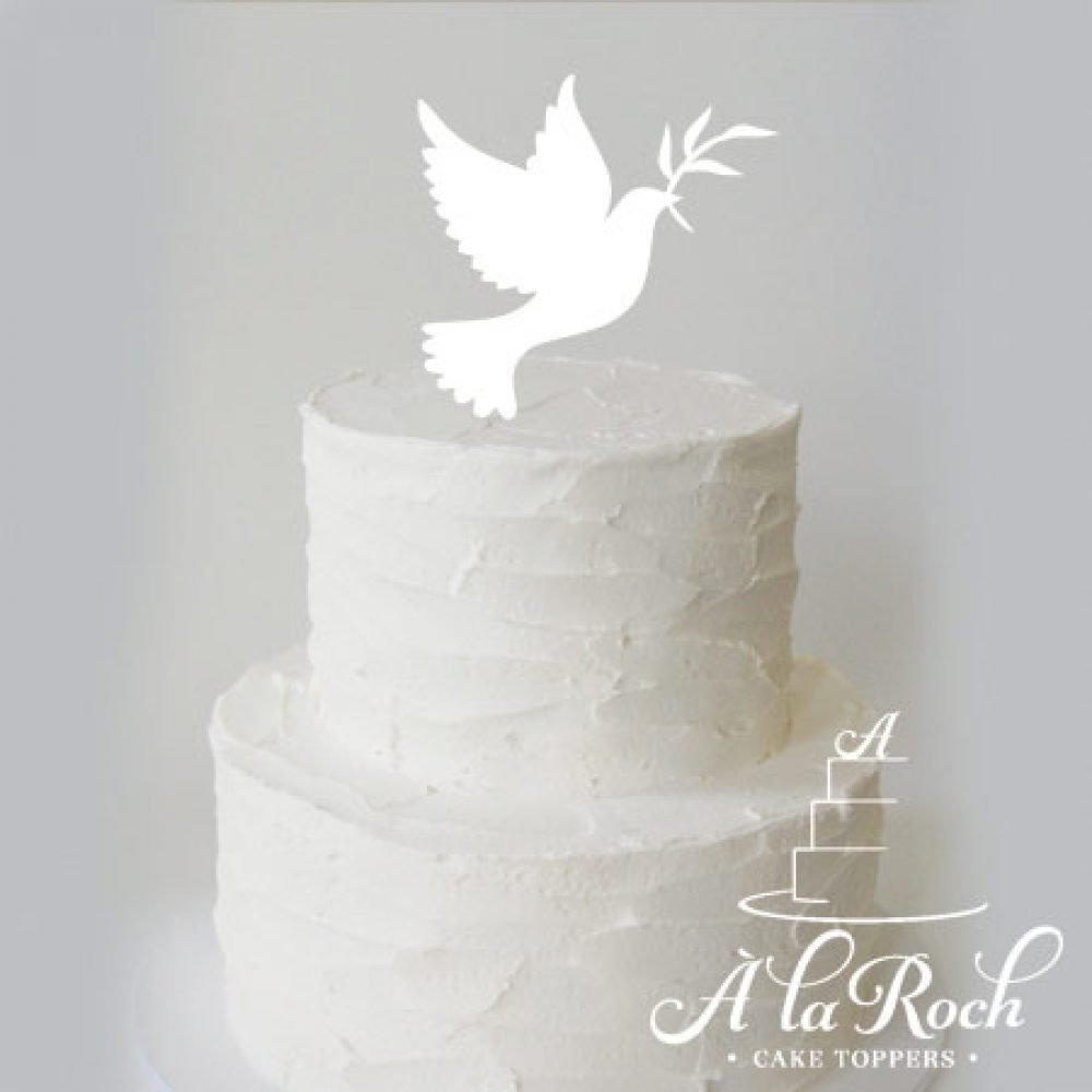 Dove Wedding Cake Topper - Wedding Cake Flavors