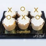 XO Cupcake Toppers