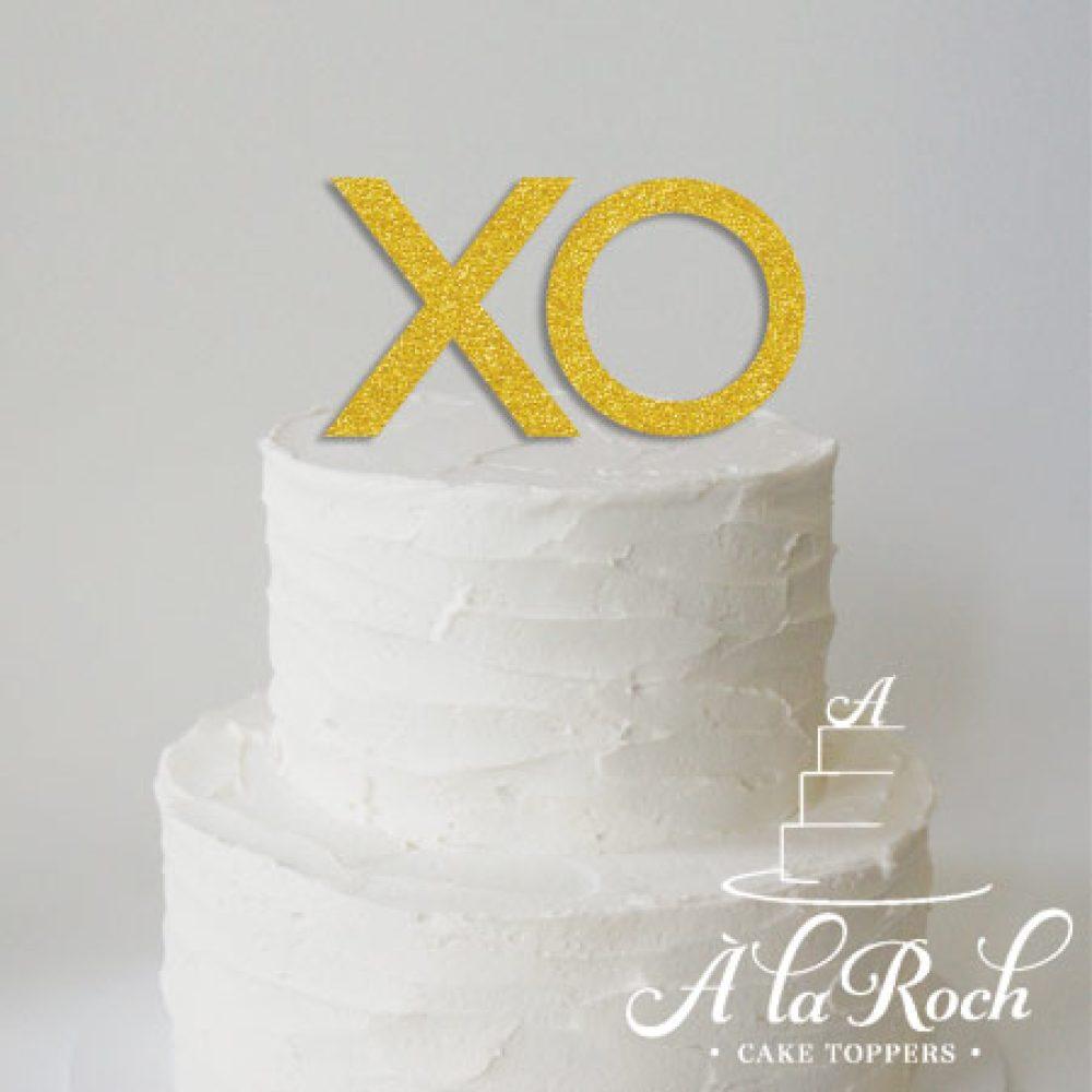 XO Cake Topper -