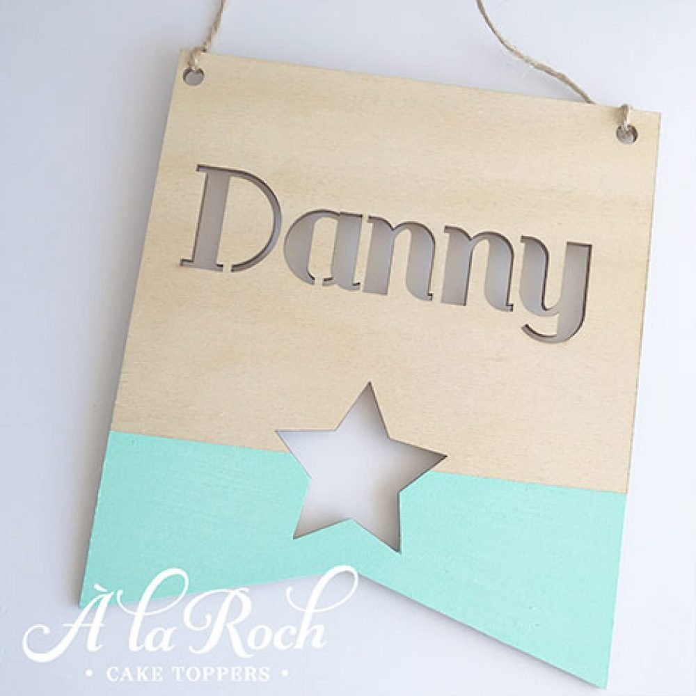 Paint Dipped Banner - kids room decor
