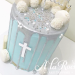 Cross Acrylic Cake Topper